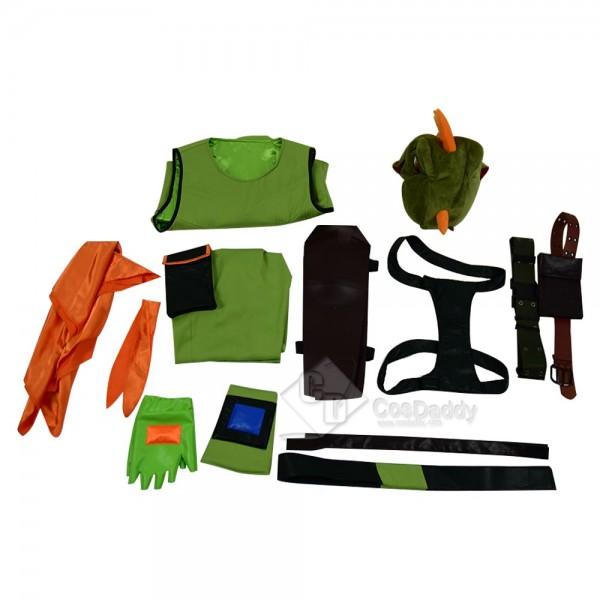 Fortnite Rex Cosplay Costume