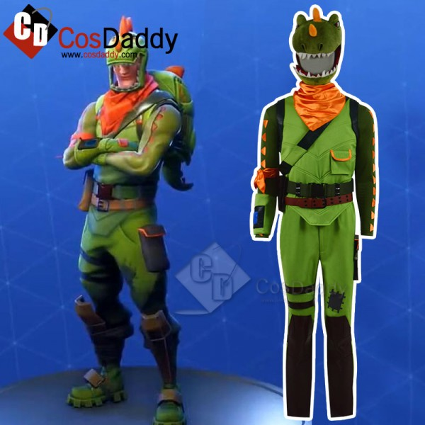 Fortnite Rex Cosplay Costume