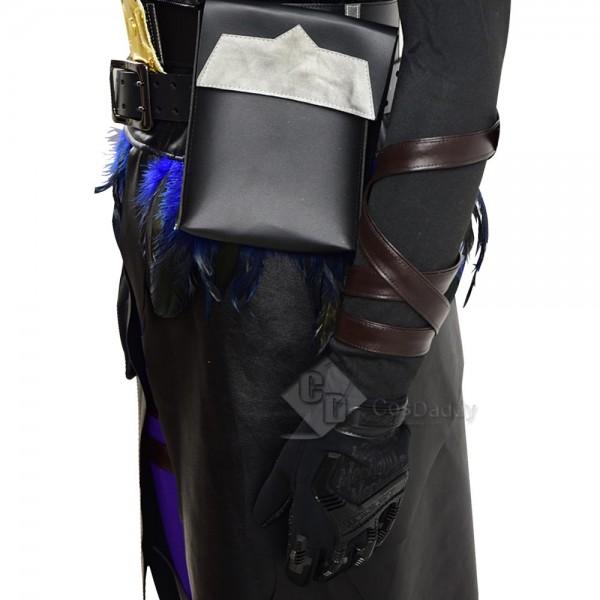 Fortnite Crow Raven Skin Cosplay Costume