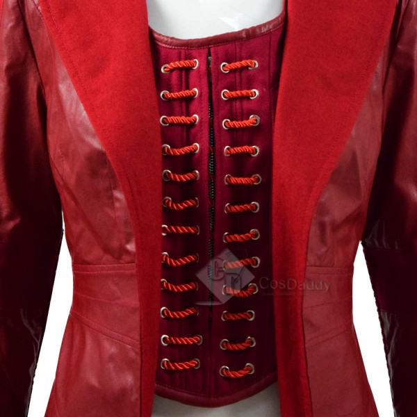 Captain America3 Civil War Scarlet Witch Cosplay Costume
