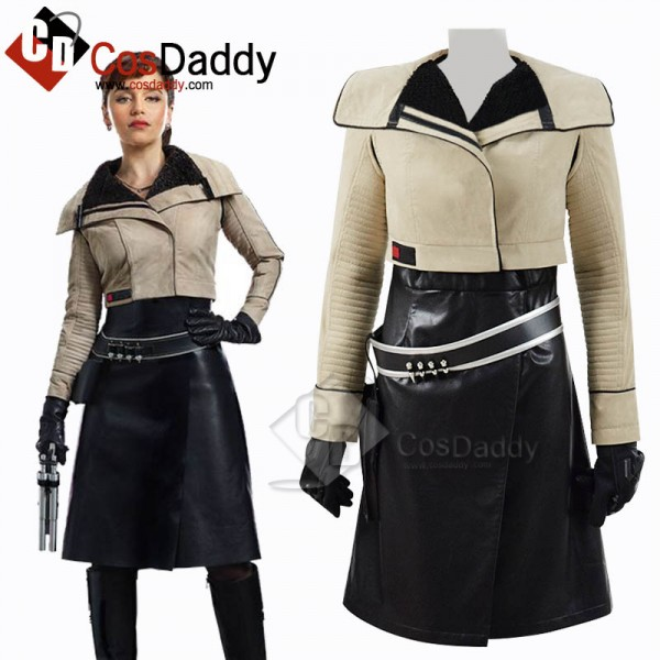 Solo: A Star Wars Story Qira Cosplay Costume