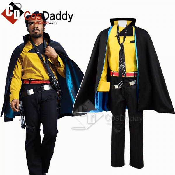 Solo: A Star Wars Story Lando Calrissian Cosplay Costume