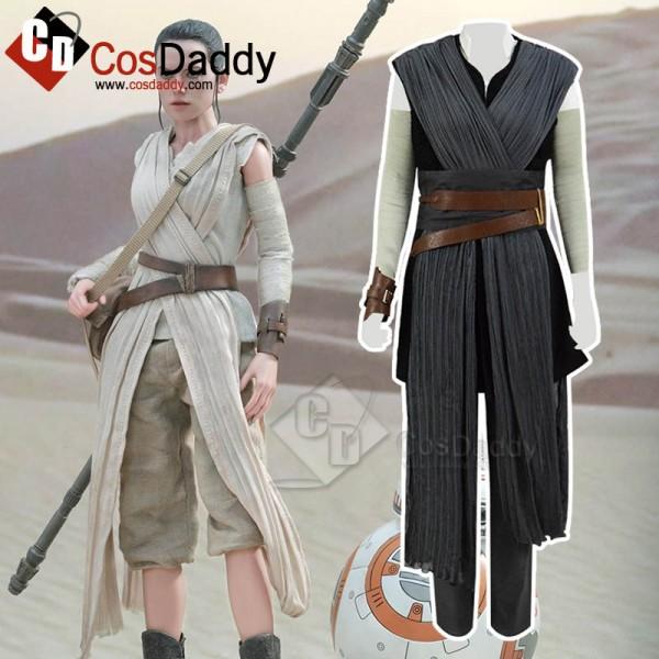 Star Wars: The Last Jedi Rey Cosplay Costume