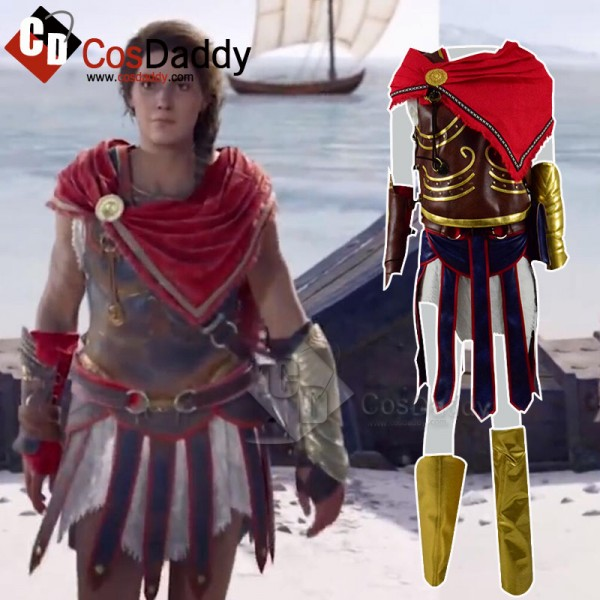 Assassin's Creed Cassandra Cosplay Costume
