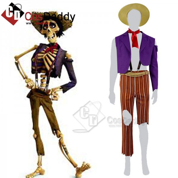 Coco (2017) Movie Hector Cosplay Costume