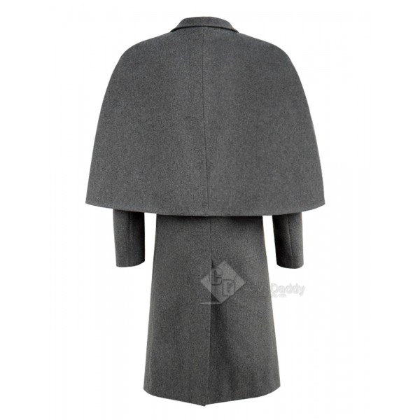 Sherlock Sherlock Holmes Cloak Coat Cosplay Costume