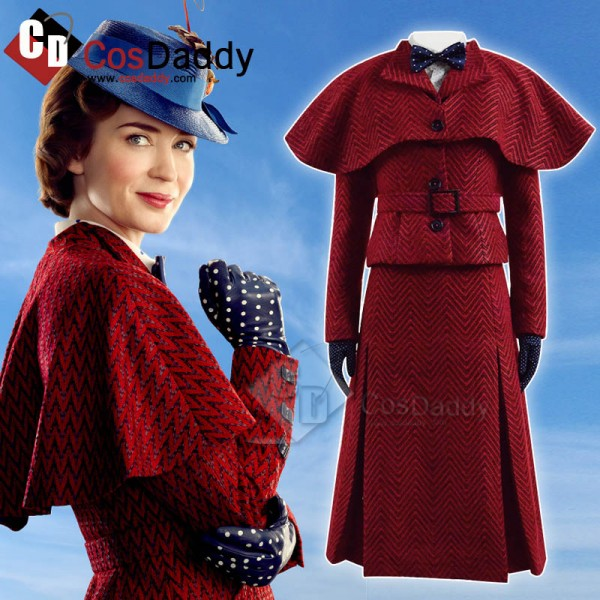 Mary Poppins 2 Mary Poppins Cosplay Costume