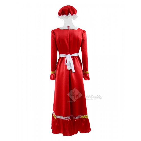 Christmas Women's Party Dress Santa Claus Cosplay Costume