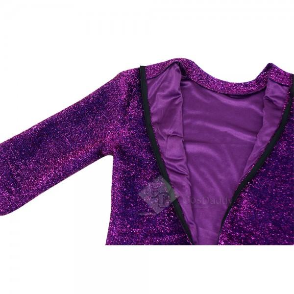 Sing Rossi Pig Purple Jumpsuit Cosplay Costume