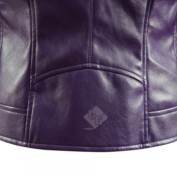 Vox Lux Celeste Leather Coat Cosplay Costume