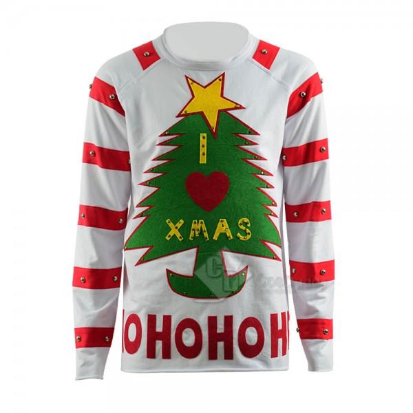 Christmas Holiday Christmas Tree tee Long Sleeve T...