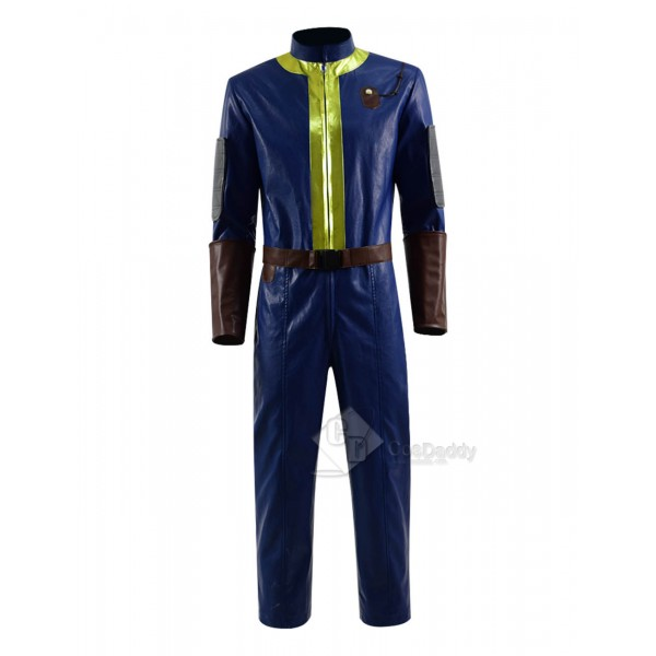 Fallout 76 Vault Jumpsuit Cosaply Costume