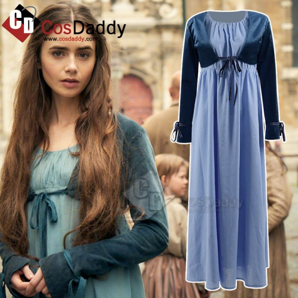 Les Misérables Fantine Dress Cosplay Costume