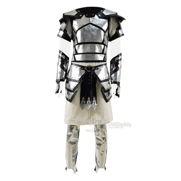 Conqueror Full Armor Leather and Steel Armor Cospl...