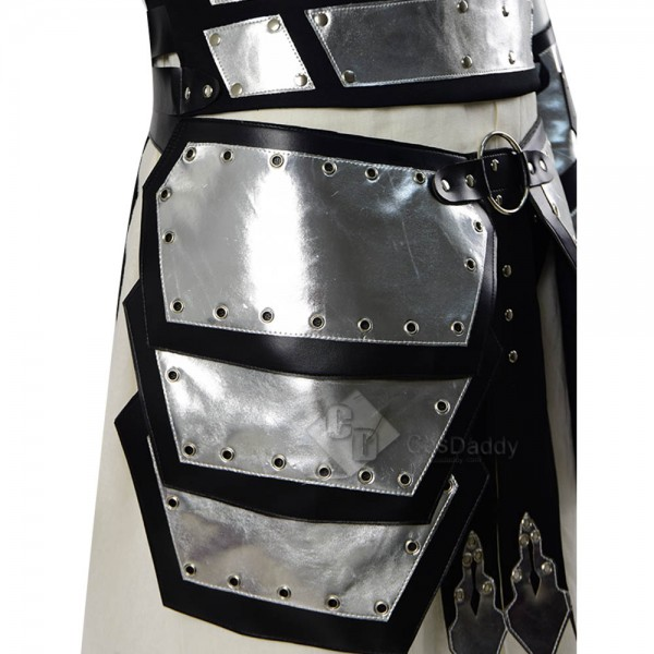 Conqueror Full Armor Leather and Steel Armor Cosplay Costume