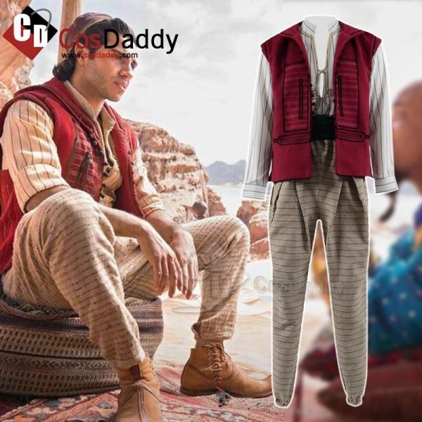 Aladdin (2019) Aladdin Cosplay Costume
