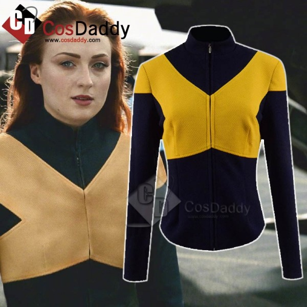 X-Men: Dark Phoenix Jean Grey-Summers Phoenix Coat...