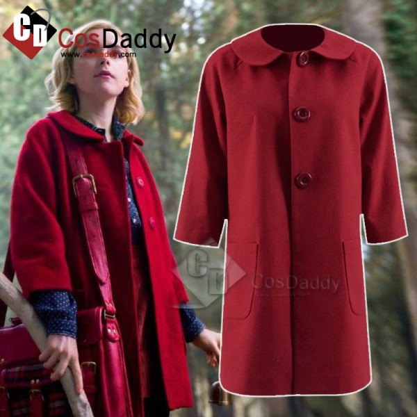 Chilling Adventures of Sabrina Sabrina Spellman Red Coat Cosplay Costume