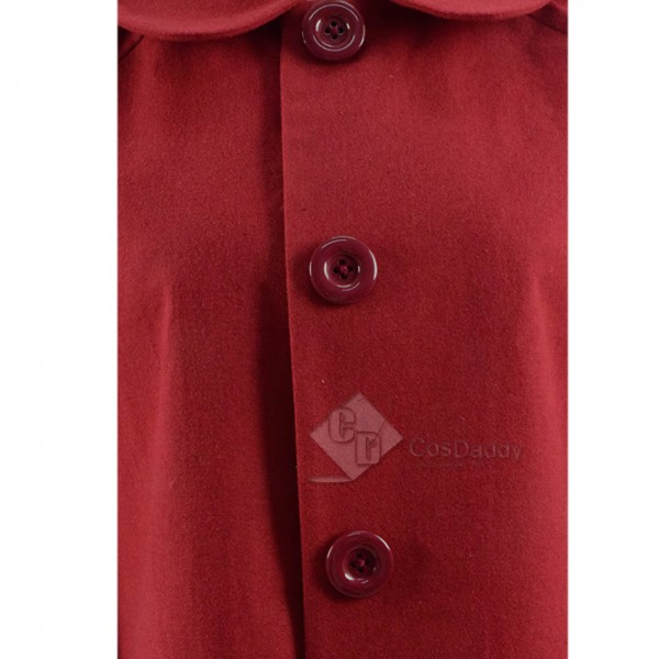 Chilling Adventures of Sabrina Sabrina Spellman Red Coat Cosplay Costume