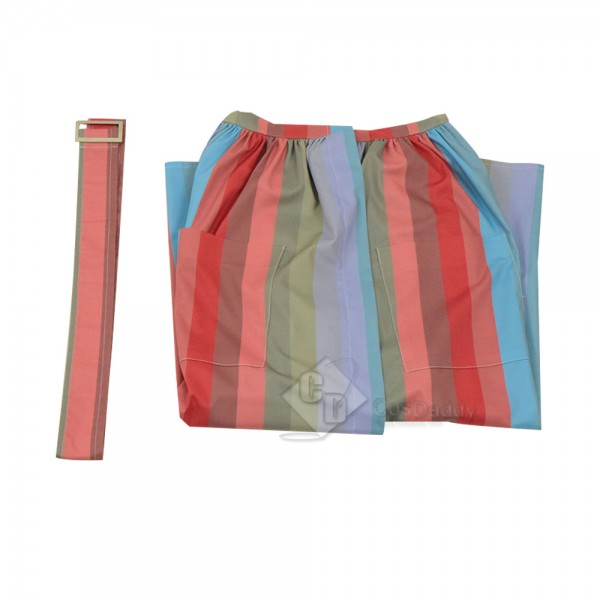 The Marvelous Mrs. Maisel Miriam Midge Maisel Rainbow Dress Cosplay Costume