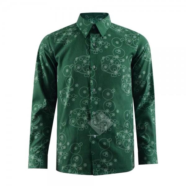 2019 Joker Joaquin Phoenix Arthur Fleck Flannelette Uniform Cosplay Costume