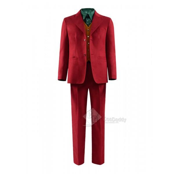 2019 Joker Joaquin Phoenix Arthur Fleck Uniform Cosplay Costume