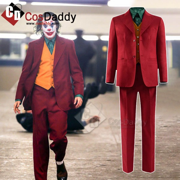 2019 Joker Joaquin Phoenix Arthur Fleck Uniform Co...