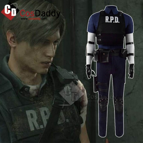 Biohazard Re:2 Leon Scott Kennedy Cosplay Costume