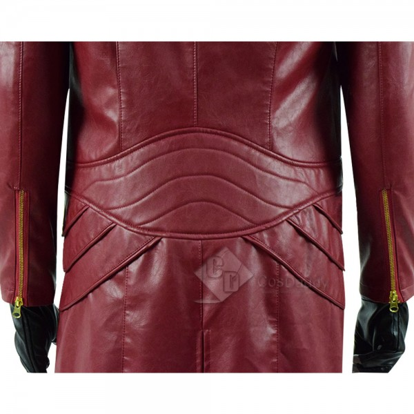 Devil May Cry V 5 Dante DMC 5 Cosplay Costume Leather Long Jacket Coat
