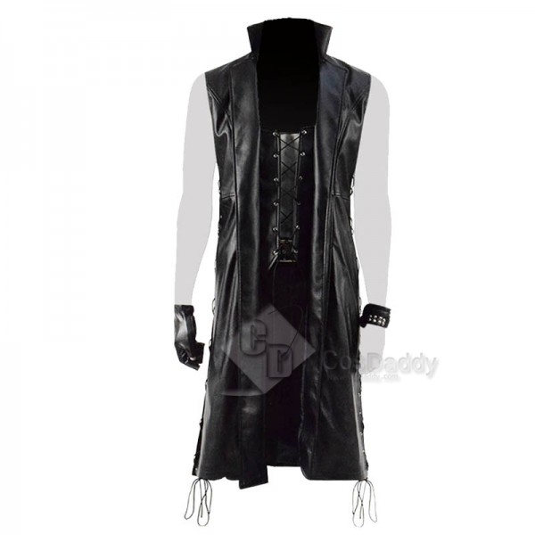 Devil May Cry 5 DMC 5 V Mysterious Man Coat Cosplay Costume