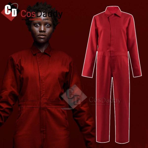 2019 Us Adelaide Wilson Lupita Nyong'o Jumpsuit Cosplay Costume