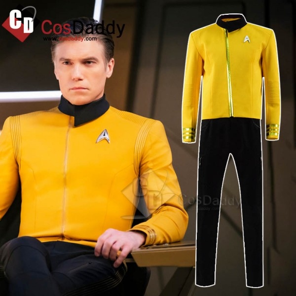 Star Trek: Discovery Christopher Pike Yellow Unifo...