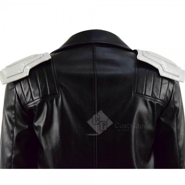 DC Doom Patrol Robotman Leather Coat Cosplay Costume