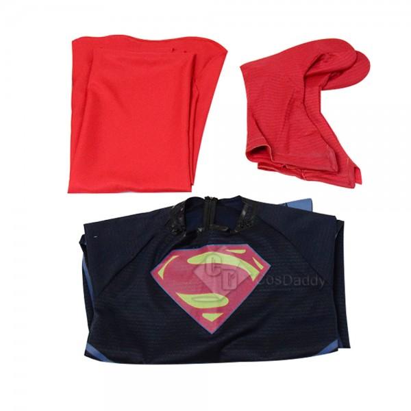 CosDaddy Batman v Superman:Dawn of Justice Superman Cosplay Costume Deluxe Version