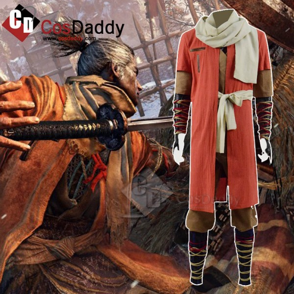 SEKIRO: Shadows Die Twice Sekiro Outfit Cosplay Co...