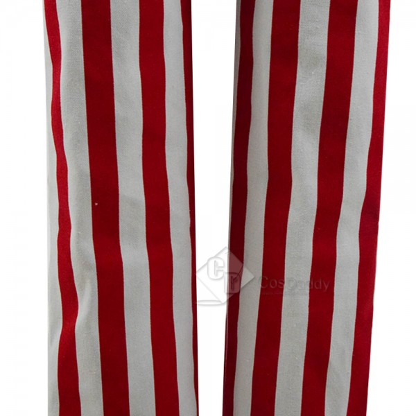 Uncle Sam Fancy Dress Stripe Suit Cosplay Costume