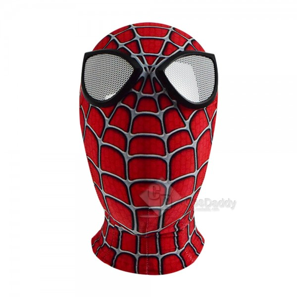 Spider-Man: Into the Spider-Verse Peter Parker Jumpsuit Mask Adult Children Cosplay Costume
