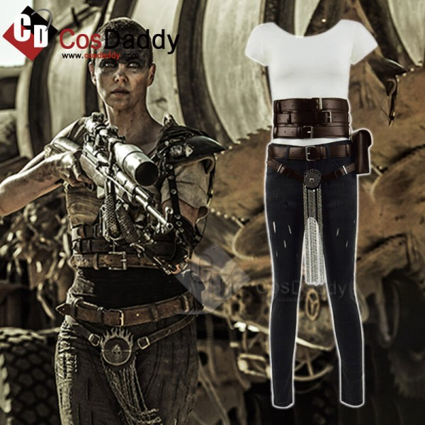 Mad Max Fury Road Charlize Theron Cosplay Costume ...