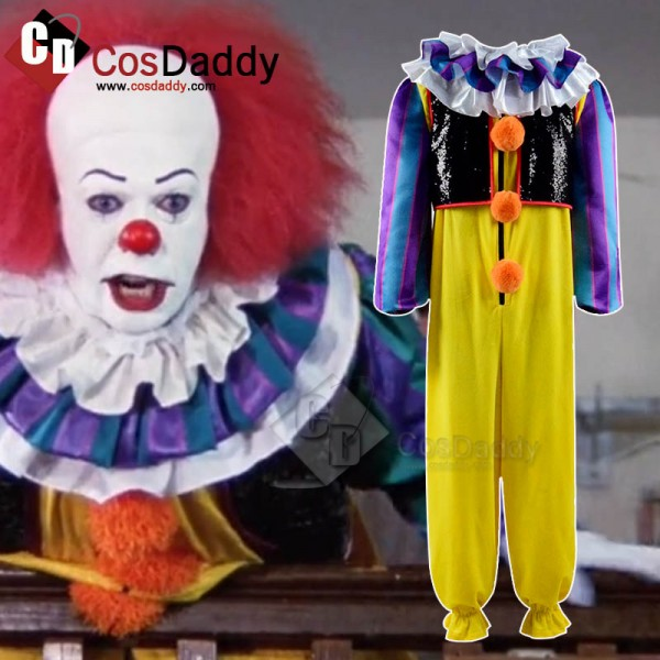 Stephen King's It Clown Anime Figures 1990 Movie Costume