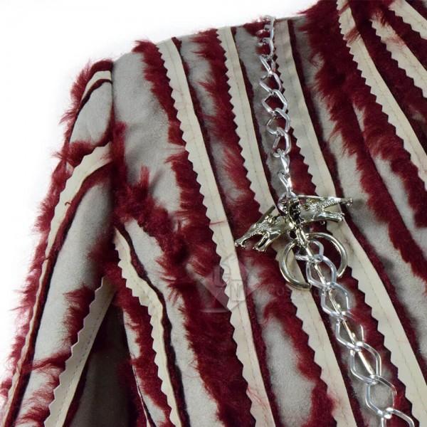 Game Of Thrones Season 8 Mother Of Dragons Daenerys Targaryen Thin Cosplay Costume