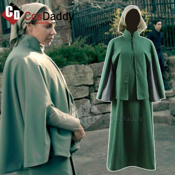 The Handmaid's Tale Season 3 Long Dress Cosplay Co...