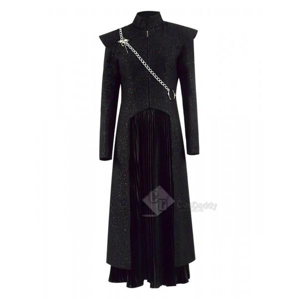 Game of Thrones Season 7 Mother of Dragons Daenerys Targaryen Dress Suit Cosplay Costume