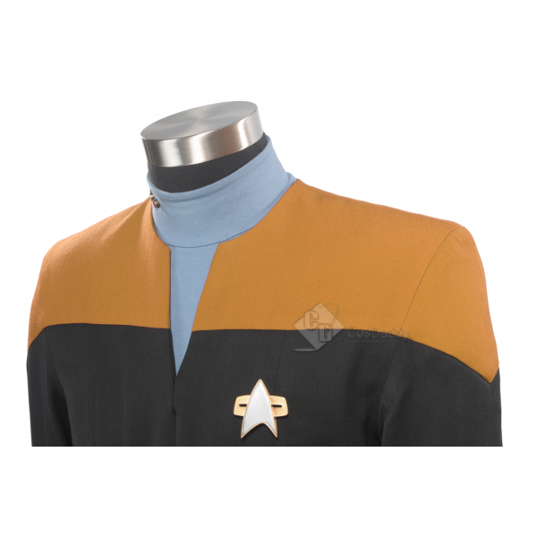 Star Trek:  Voyager Starfleet Uniform Gold Jumpsui...