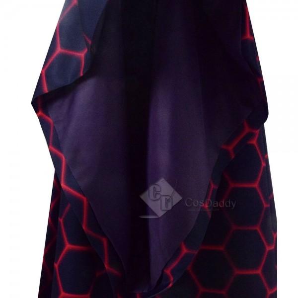 Game Of Thrones Season 8 Melisandre Costume Halloween Cosplay Party Long Dress