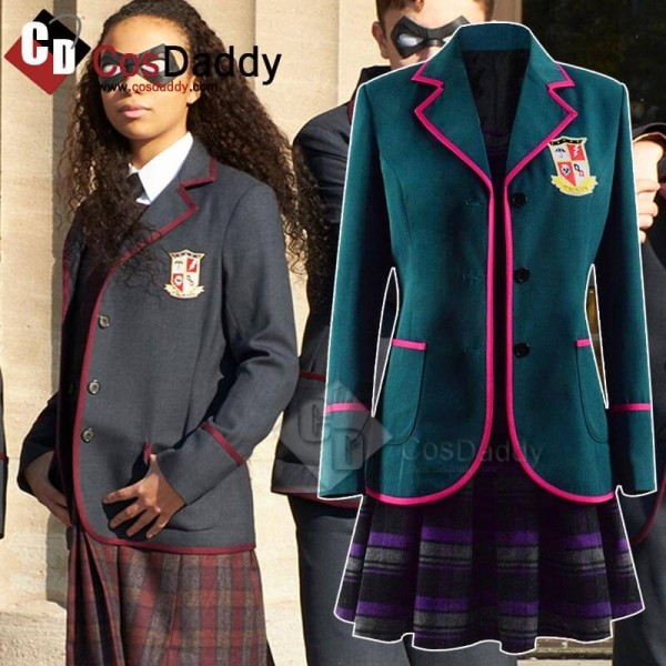 Cosdaddy The Umbrella Academy Purple School Unifor...