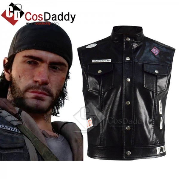 Days Gone Hot Game Deacon St. John Leather Vest Co...