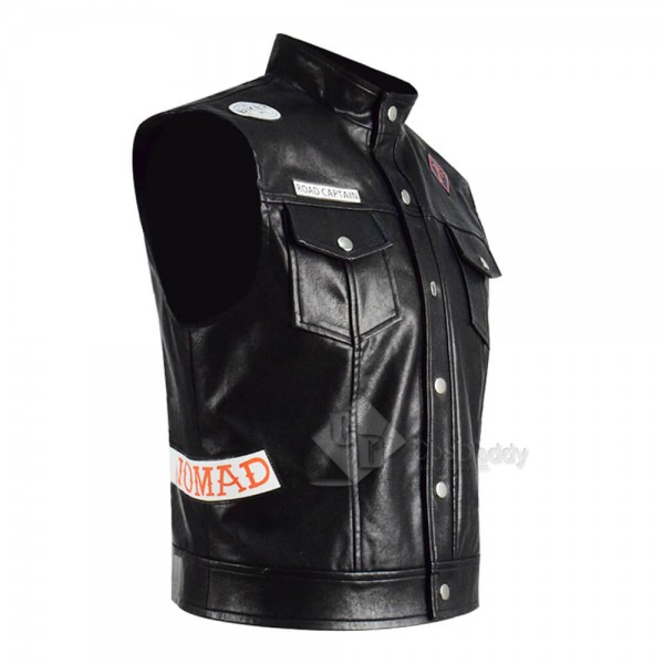 Days Gone Hot Game Deacon St. John Leather Vest Cosplay Costume