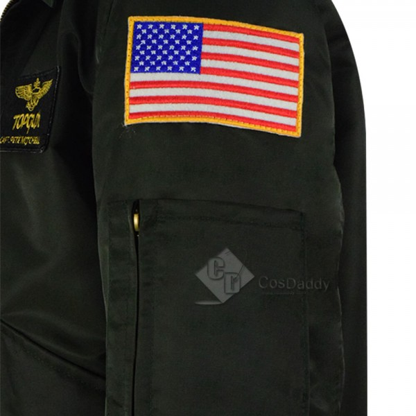 Top Gun Maverick Halloween Costume Nylon Jacket For Sale 2019