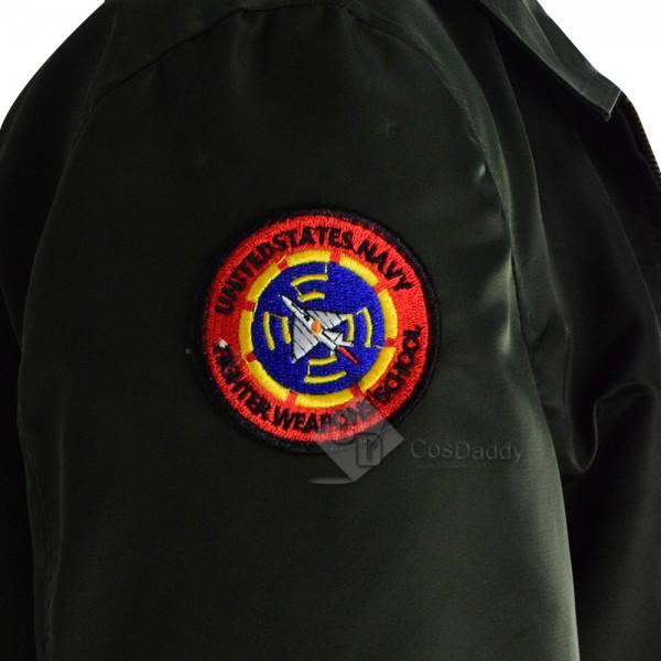 Top Gun Maverick Halloween Costume Nylon Jacket For Sale 2019