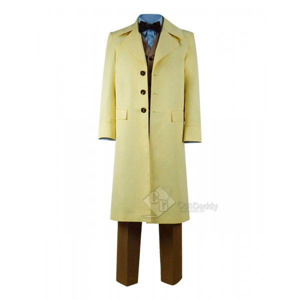 Good Omens Michael Sheen Coat Outfit Full Set Cosplay Costume 2019